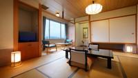 【禁煙】「岩木山」を一望できる和室(バス・トイレ・広縁付)