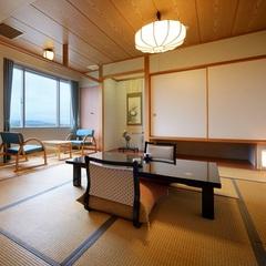 津軽富士「岩木山」を一望できる和室(バス・トイレ・広縁付)
