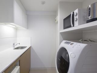 【スタンダードプラン】家族でグループで♪トリプルルーム・洗濯乾燥機とミニキッチン付(朝食付)