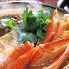 【冬季限定】冬の味覚といえば蟹♪カニすき堪能