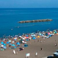 【夏限定】鵜の浜海水浴場がすぐ!海でたくさん遊んだ後は温泉でさっぱり☆ズワイガニの半身付き♪/2食付