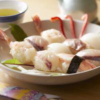 春秋P☆「朝から地魚とカニのにぎり寿司♪」朝も夜もピチピチ丹後のお魚ざんまい♪