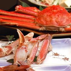 冬P☆リピ—ター続出♪舟盛付カニフルコース☆当館一番人気☆お腹一杯食べたい方へ、〆の雑炊までいけるか