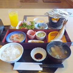朝食付◇カラダに優しい、お魚メインの和朝食を堪能♪