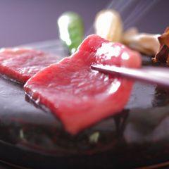 肉料理でグレードアップ! 【和牛ステーキ】陶板焼き付越後牛プラン
