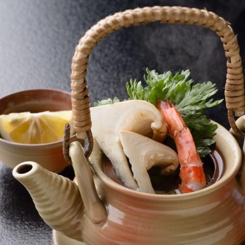 【秋の極】雲仙牛&松茸土瓶蒸し&松茸ばら寿司プラン!