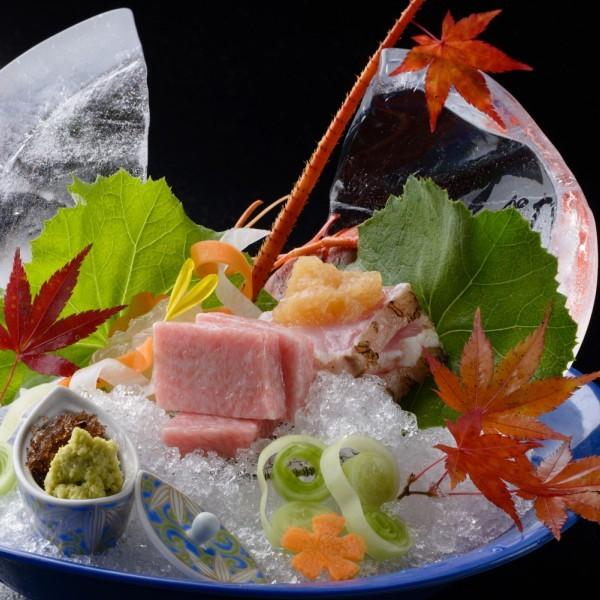 「宝の海・有明海&橘湾の新鮮素材」海の幸プラン(楽パック)