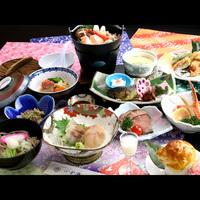 【花の舞-hana-】 旬の素材をふんだんに盛り込んだ料理会席 お料理11品