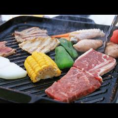 日本海を目の前に!★特選!旬の海鮮BBQプラン