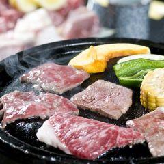 【狭霧亭プラン人気No1】牛と地鶏の炭火焼プラン