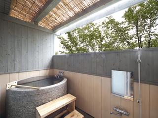 【本館】半露天風呂付き1階の和室