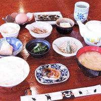 【朝食付】手作りのお惣菜に自家製のお米や茶葉。翌朝は素朴な和朝食をご用意☆