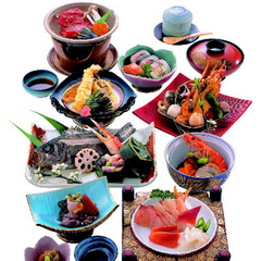 ≪定番≫鮮度抜群!生簀料理と瀬戸内の多島美を満喫(葵コース)