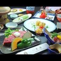 【ワンドリンクサービス】こだわり松永牛の陶板焼プラン [1泊2食付]