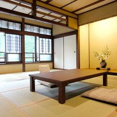 【百合】12畳+5畳+ヒノキ風呂付き特別室 本館2階