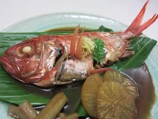 【金目鯛の煮付け+豪華舟盛り】プラン