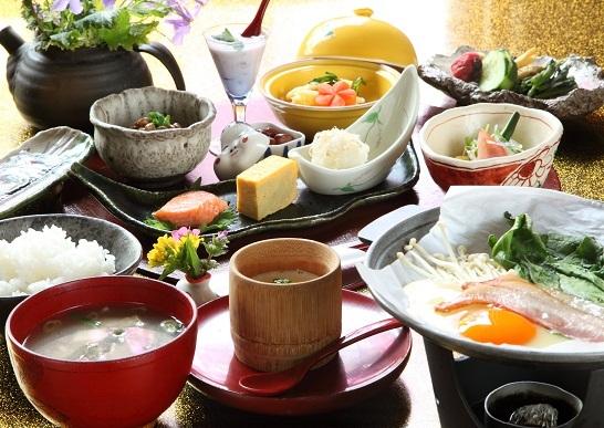 朝食付きプラン!貸切風呂無料(露天・ヒノキ内湯など4箇所あり)※夕食なし