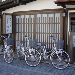 【*高瀬舟会席*】<気軽に満喫するなら♪>島根の旬食材を堪能!「津和野」散策に便利なレンタサイクル付
