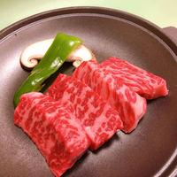 てち美味い!熊野牛陶板焼き+バイキングプラン♪(2食付)