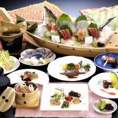【 ♪♪お刺身増量で大満足♪♪ 】 駿河湾を頬張る★ 料理グレードUP↑舟盛り付プラン
