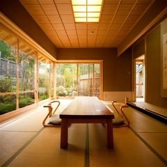 風の稲・露天付離れ「直川」(10畳+ベッドルーム+談話室)