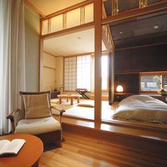 【LUX ROOM SALE】最大5%OFF!寛ぎの露天風呂付客室でモール温泉堪能