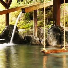 源泉かけ流し3種の貸切露天風呂〜山間に囲まれた空間で過ごす素泊まりプラン【現金特価】