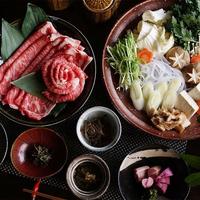 【東北で肉を食べよう!】<グレードアップ>A5ランク山形牛すき焼きプラン