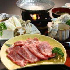 岩手が誇るブランドお肉に舌鼓♪【選べる】前沢牛のすき焼orしゃぶしゃぶ【2食付】