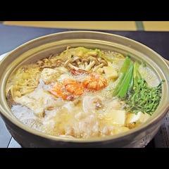 【近江牛しゃぶ鍋】野菜たっぷり鍋でしゃぶしゃぶ♪