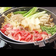 絶品!近江牛のすき焼き♪口に入れた瞬間とろけるお肉!
