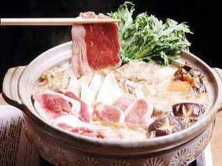 お客様の人気NO1メニュー♪那須野巻狩鍋料理コースプラン