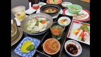 【10月〜6月】豊富なお風呂で体ポカポカ♪夕食は釧路型薬膳料理で体の中も健康に(夕朝食付)