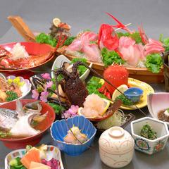 ■贅沢・海鮮コース■伊勢海老丸ごと1尾付き♪食べ方チョイスOKプラン(現金特価)