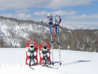 8時からアーリーチェックインOK◆春スキー&ボードプラン◆スノーシューやワカサギ釣りも