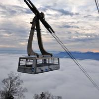 竜王スキーパーク<ロープーウェイ・リフト1日券&送迎付>スキーの後は、温泉で温まろ♪【お先でスノ。】