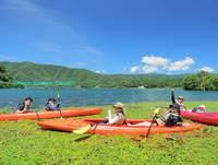 奥琵琶湖の大自然を満喫!夏の涼風を求めてカヌー体験ツアー(体験費用別途必要)♪☆一番人気プラン