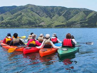 春の奥琵琶湖畔を楽しむ「新緑カヌーツアー」半日体験プラン(体験費用は別途必要)お子様も大歓迎♪