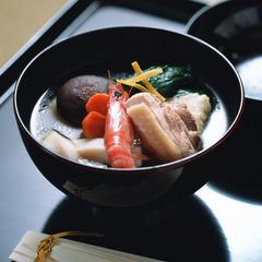 【12/31】諏訪大社 秋宮・春宮で二年参り&初詣をどうぞ♪梅月特製 お雑煮が味わえる。特別プラン