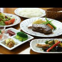 高原でのんびり過ごすひと時♪スープ・魚と肉料理&サラダ付き ロッヂ・ユートピア洋食コース1泊2食付き