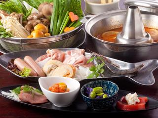 選べるコース料理4種類・朝食2種類!スィートステイプラン!