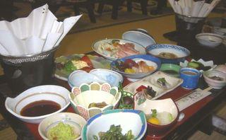 秋田の味覚をどーんと楽しむ♪大湯川を望む展望大浴場★2食付きプラン