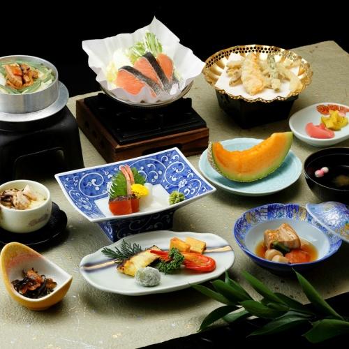 #◆お得に温泉を楽しもう!季節の和食膳プラン【夕朝食付】