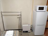【長期滞在でお得!】7泊からのウィークリープラン〜朝食付〜!大型冷蔵庫&電子レンジ完備