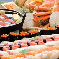 【さき楽30】オリーブフォンデュにズワイガニも食べ放題!冬限定★北海道&瀬戸内バイキングフェア