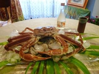 ご家族でゆっくり松葉蟹づくしプラン