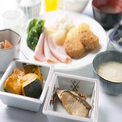 【出張&観光応援】 朝食をしっかり食べて1日をスタート♪ 朝食付プラン♪
