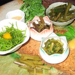 <郷土料理プラン>新潟名物、季節に合わせた料理を囲炉裏で堪能■2食付