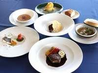 【グレードアップ洋食ディナー】★プチ贅沢なフレンチ★2食付宿泊プラン