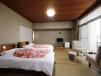 【禁煙】和室ツインベッド【12畳】◇レイクビュー◇
